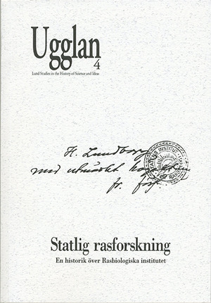 Statlig rasforskning av Gunnar Broberg